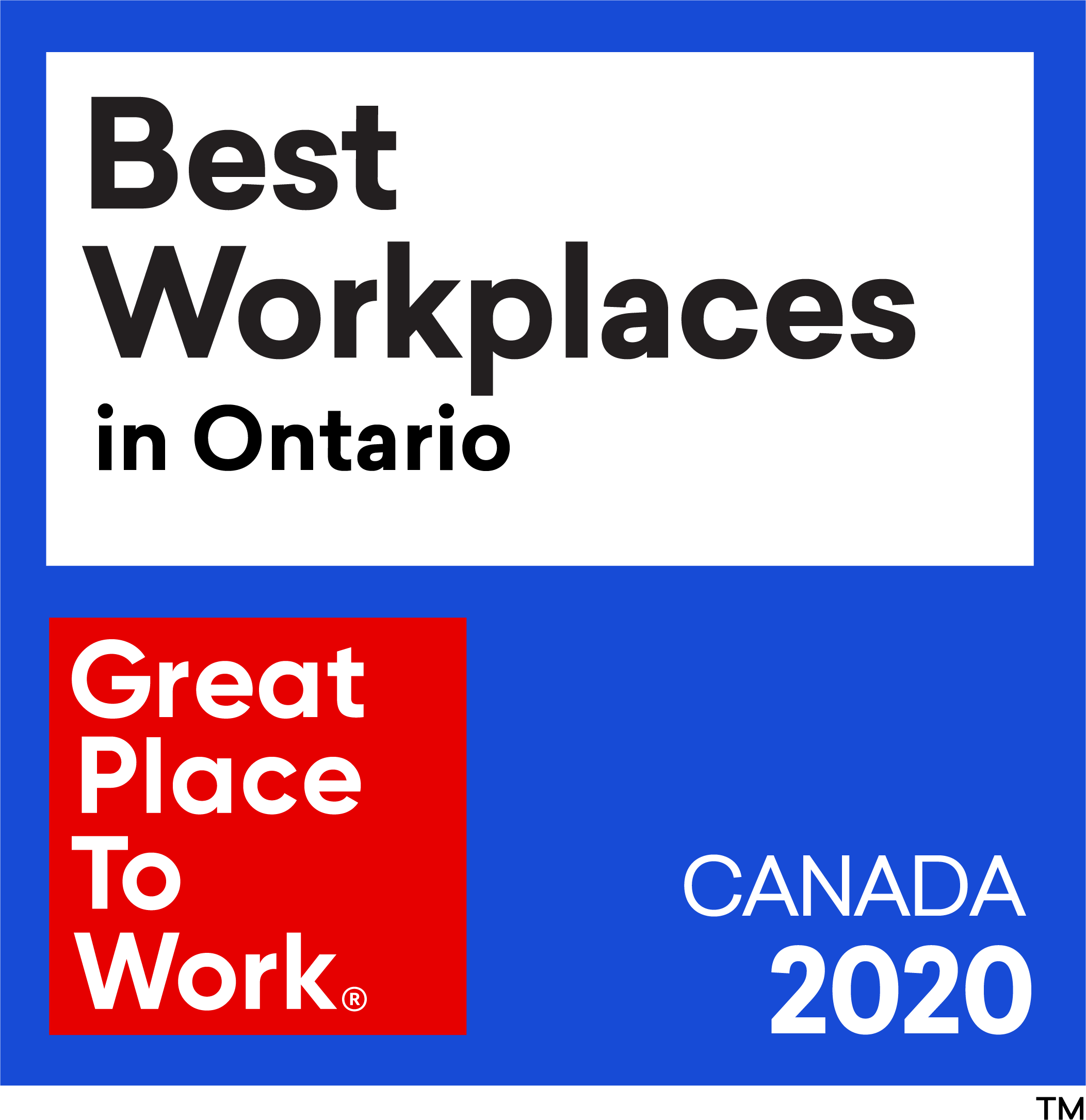 Best_Workplaces in Ontario 2020