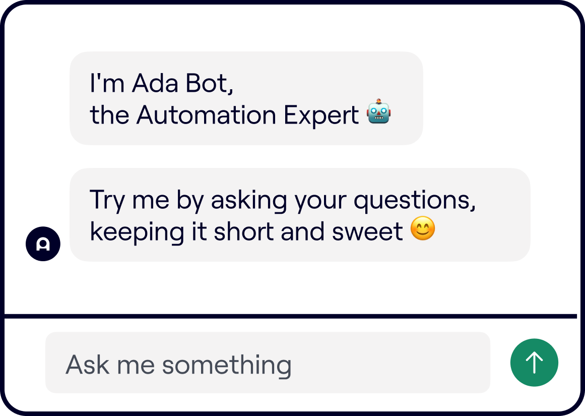 create a chatbot in under 30 days. Show them as messages on the bot.